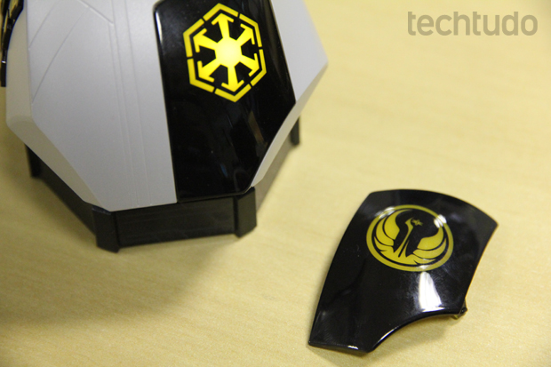 O visual do mouse foi inspirado no MMORPG de Star Wars (Foto: Reprodução / TechTudo)