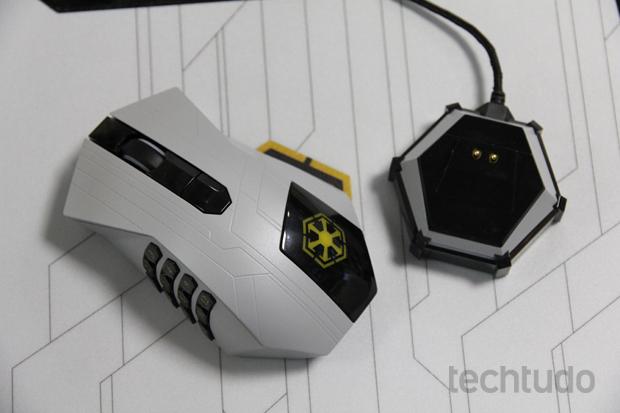 Você escolhe entre usar o mouse com ou sem fio (Foto: Reprodução / TechTudo)
