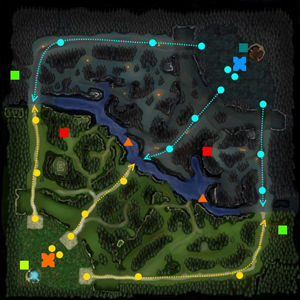 Detalhe do mapa de Dota 2 (Foto: Divulgação)