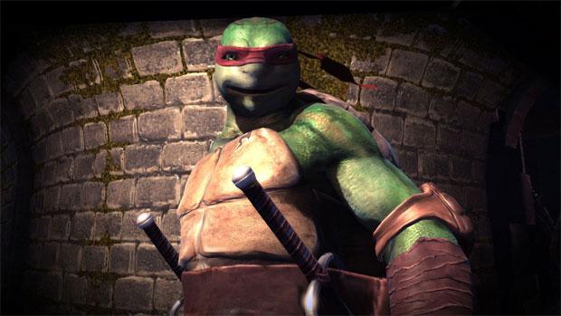 Raphael é uma das Tartarugas Ninja no novo game (Foto: Divulgação)