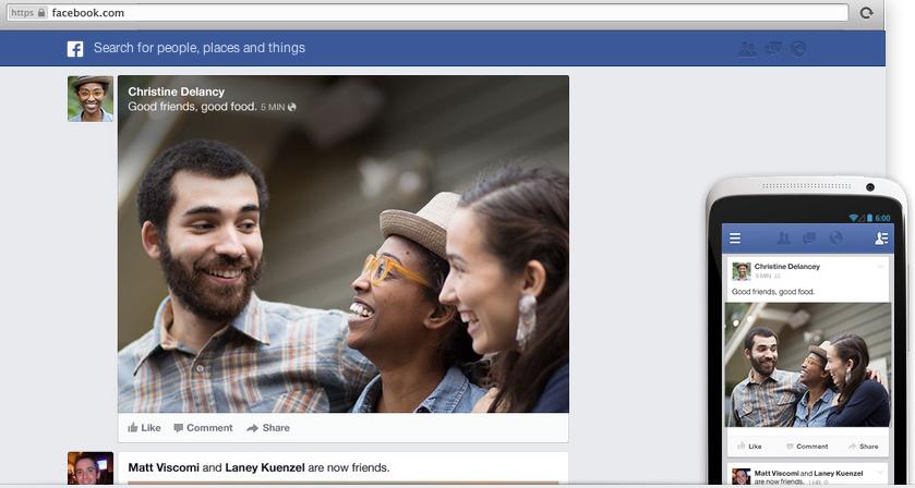 Novo Feed de Notícias do Facebook vai entregar maior filtro na versão web ou mobile (Foto: Divulgação)