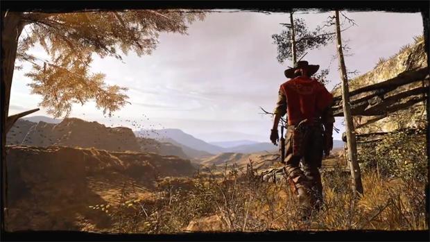 O caçador de recompensas Silas Greaves explora o Velho Oeste em Call of Juarez: Gunslinger (Foto: Divulgação)