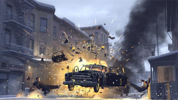 Mafia 2 é reconhecido como um jogo que usa todo o poder do PhysX (Foto: Reprodução)