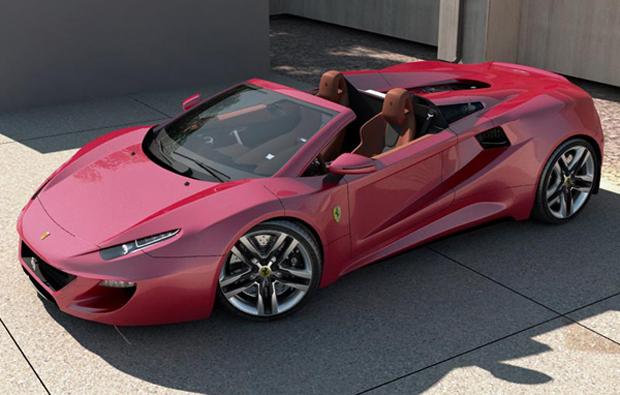 Ferrari FT12 foi criada com influências de diversos modelos históricos da marca (Foto: Reprodução)