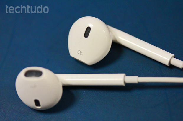 Earpods da Apple (Foto: Marlon Câmara/TechTudo)