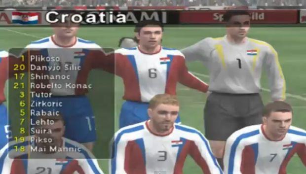 O PlayStation 2 melhorou a performance gráfica dos jogos de futebol (Foto: Reprodução/YouTube)