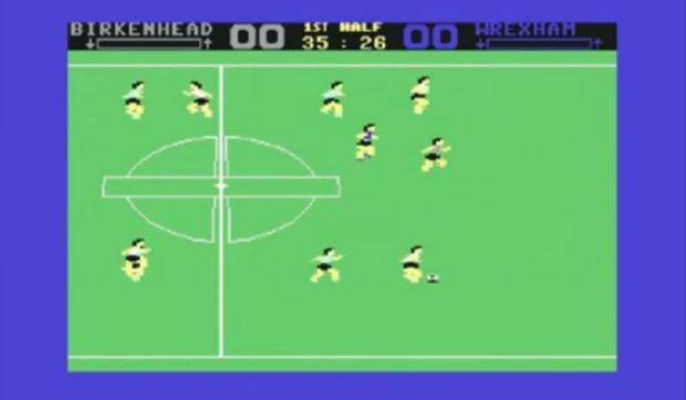 Superstar Soccer foi outro game para Commodore 64 (Foto: Reprodução/YouTube)