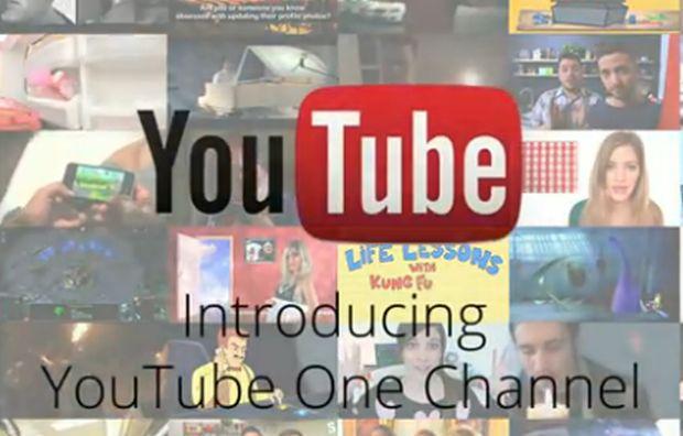 Novo visual nos canais do YouTube (Foto: Reprodução/YouTube)