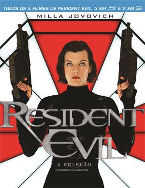 Coleção Resident Evil em Blu-ray (Foto: Divulgação)
