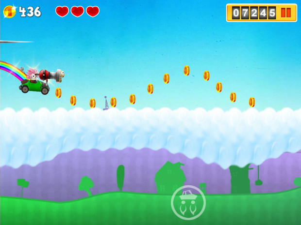 Turbolad Pursuit é jogo de um cientista louco e a paixão pelo seu carro (Foto: Divulgação)