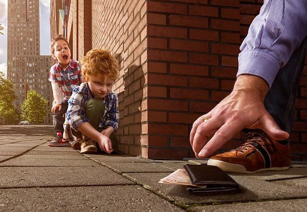 A expectativa de uma pegadinha infantil (Foto: Divulgação/ Adrian Sommeling)
