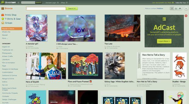 Rede social para artistas (Foto: Divulgação)