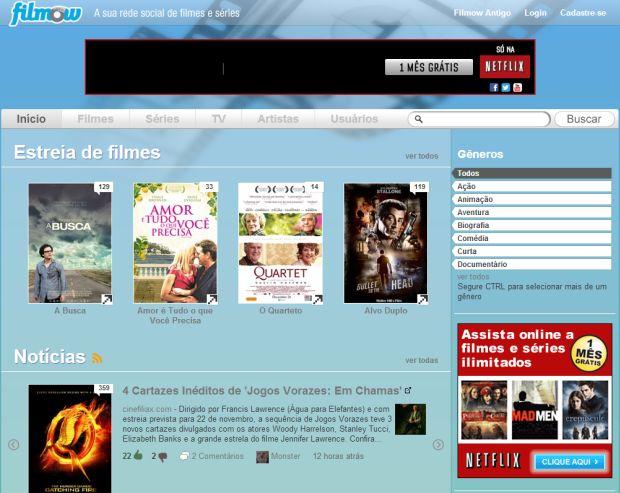 Rede social para cinéfilos (Foto: Divulgação)
