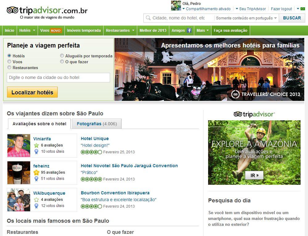 Rede social para os viajantes (Foto: Divulgação)
