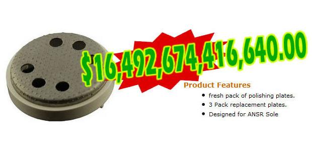 1 - Chapas de reposição para removedor de calos ANSR (pacote com 3) (Foto: Cracked.com)