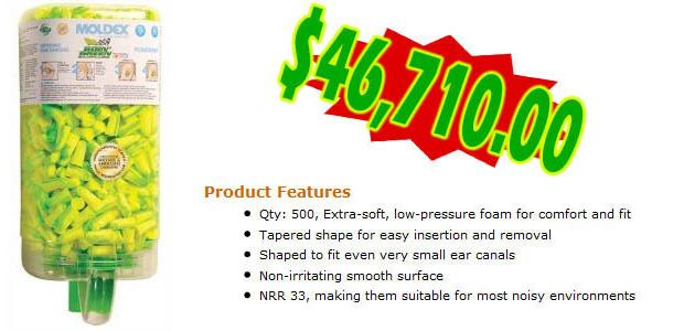 10 - Protetores de ouvido descartáveis da NASCAR (Foto: Cracked.com)