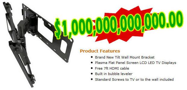 2 - Suporte de parede motorizado para TV da Samsung (Usado) (Foto: Cracked.com)