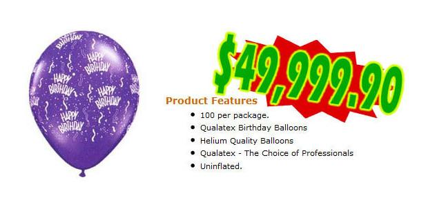 8 - Balões de aniversário com texto impresso (Foto: Cracked.com)