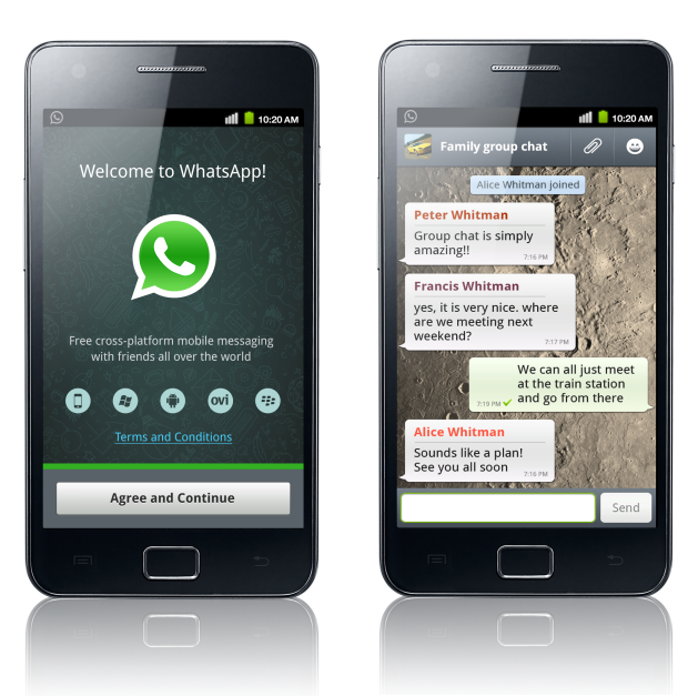 whatsapp on samsung s3350 new style for 2016 2017