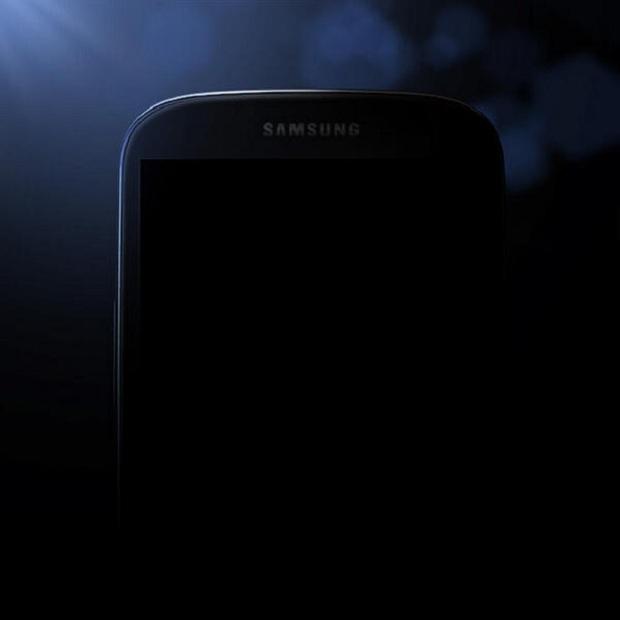 Foto publicada pela Samsung mostra o S4 (Foto: Reprodução CNET)