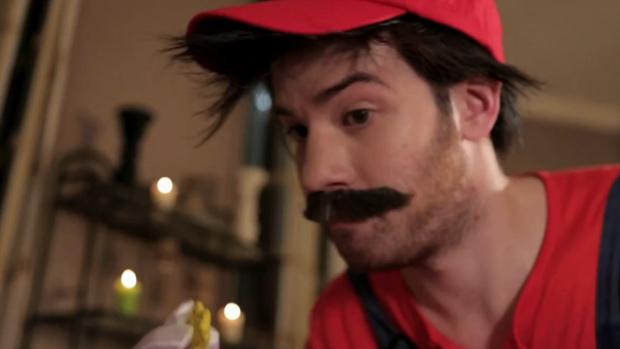 Mario é um dos personagens apresentados no divertido vídeo. (Foto: Reprodução)