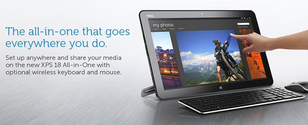 Dell anunciou o novo produto em seu site (Foto: Divulgação)