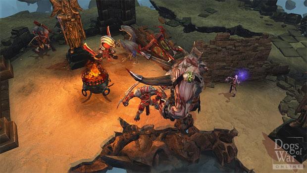 Dogs of War Online tem batalhas estratégicas (Foto: Divulgação)