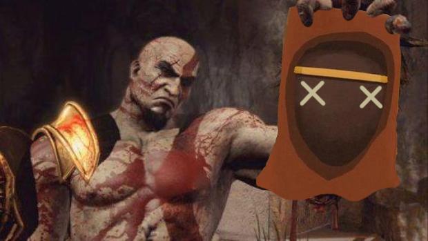 Kratos se diverte com a demo de Journey em God of War: Ascension (Foto: Reprodução: Rafael Monteiro)