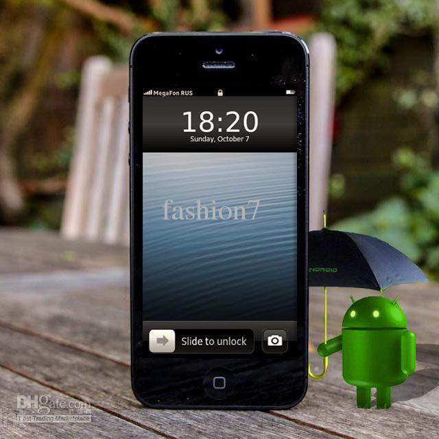 Goophone i5S: o clone do ainda não lançado iPhone 5S (Foto: Reprodução/DHGate.com)