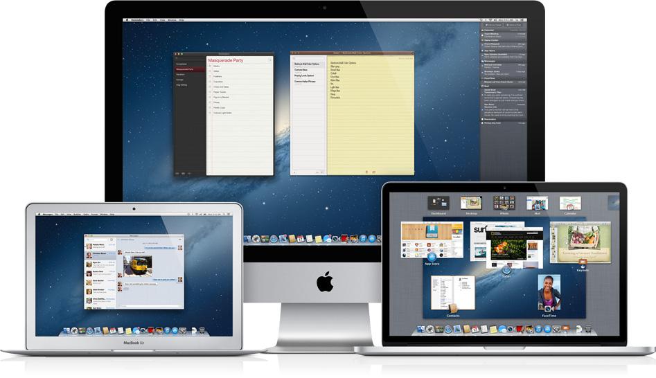 Mac OS (Foto: Divulgação/ Apple)