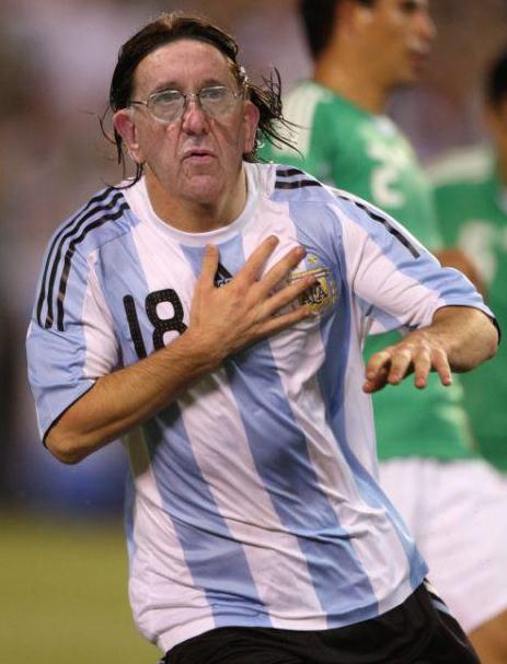 A piada faz alusão ao novo Papa argentino (Foto: Reprodução)