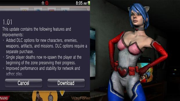 A atualização prepara as novidades, como a fantasia de Princess Heart para o futuro DLC (Foto: Rely on Horror)