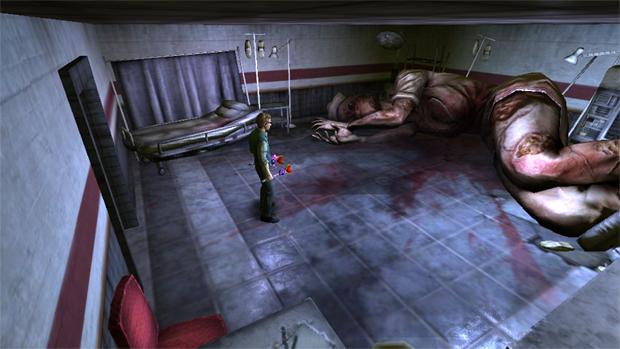 Perturbadora nova sala de Silent Hill tem enfermeira gigante (Foto: Rely on Horror)