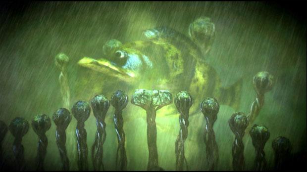 Alucinações tomam conta do personagem em Spate (Foto: Divulgação)