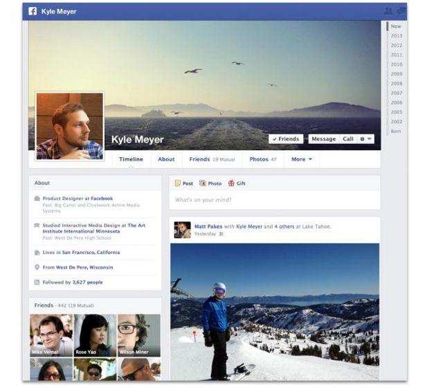 Uma timeline mais organizada para o Facebook (Foto: Divulgação/Facebook Developers Blog) (Foto: Uma timeline mais organizada para o Facebook (Foto: Divulgação/Facebook Developers Blog))