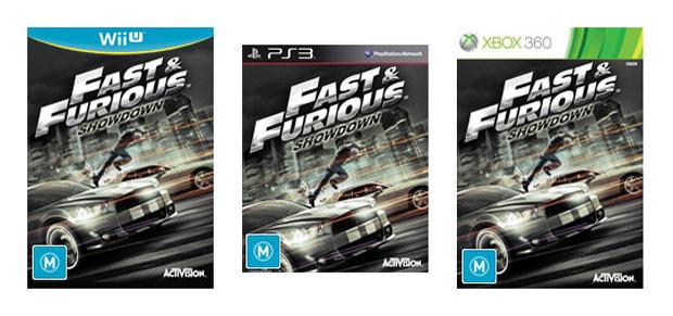 A arte da capa de Fast & Furious Showdown (Foto: Divulgação)