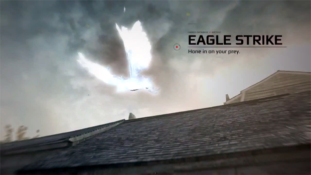 Connor se transforma em águia em novo DLC de Assassin's Creed 3 (Foto: Divulgação)