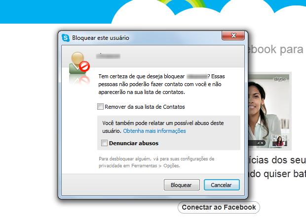 Confirme o bloqueio (Foto: Reprodução/ Mariana Coutinho) (Foto: Confirme o bloqueio (Foto: Reprodução/ Mariana Coutinho))