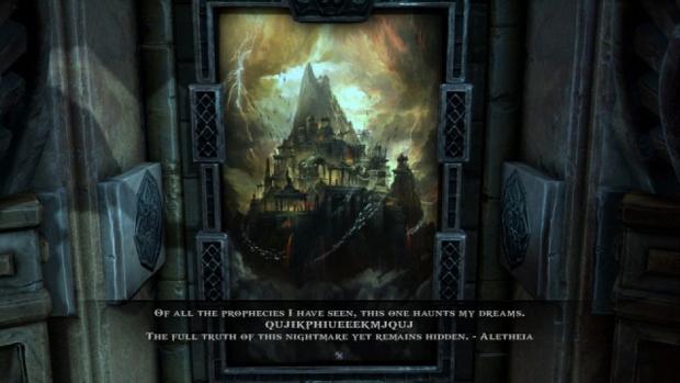 Código misterioso em God of War: Ascension pode ter ligação com GoW 4 (Foto: TheSixthAxis)