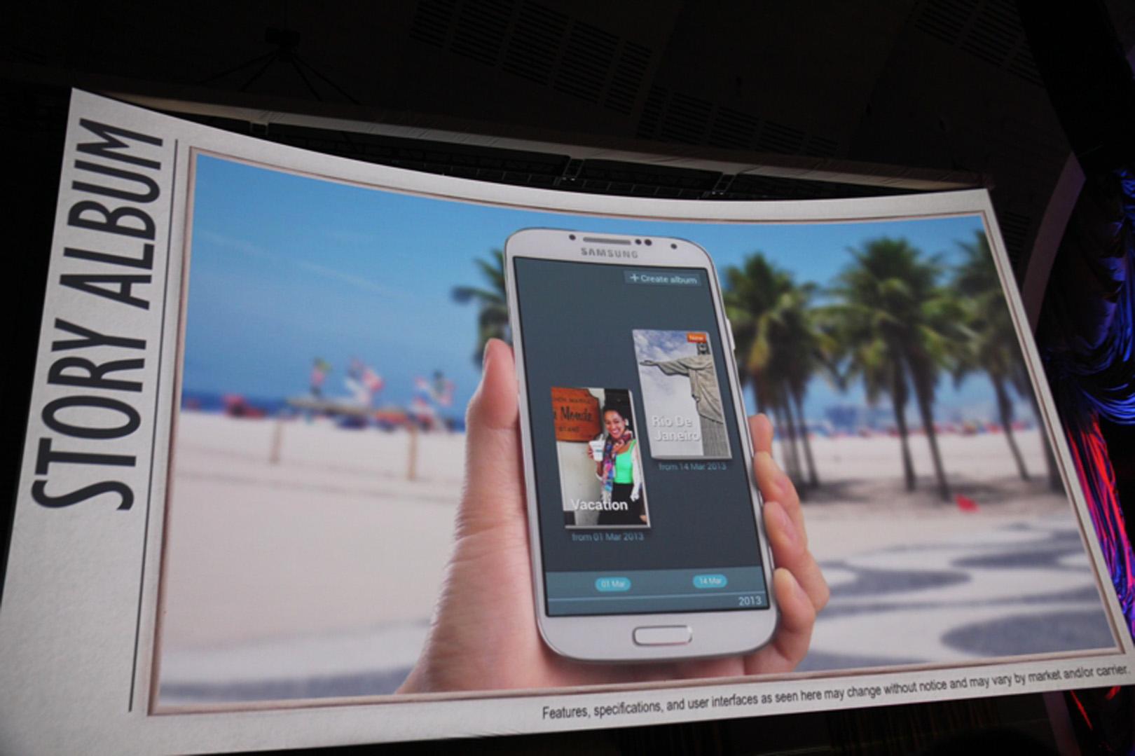 O S4 permitirá criar álbuns de fotos (Foto: Allan Melo/ TechTudo)