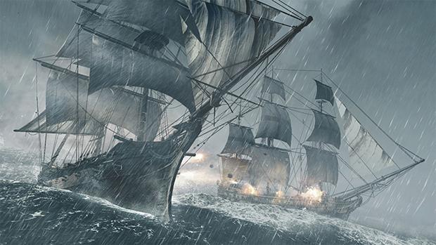 Batalhas entre navios serão o ponto alto do jogo (Foto: Divulgação)