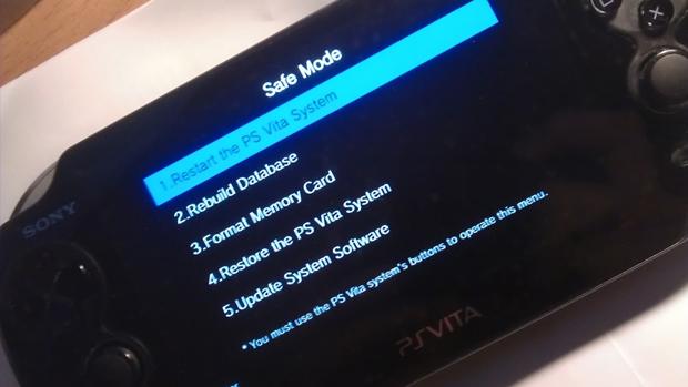 PS Vita em modo de segurança pode ser reiniciado sem dificuldades (Foto: vitatricks.com)