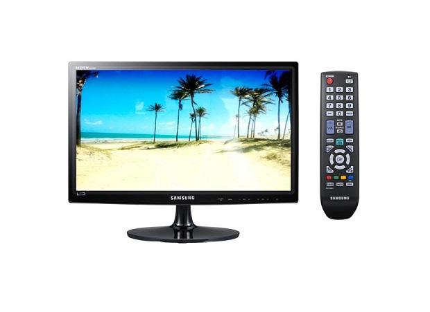 """TV LED 18,5"""" Samsung com Conversor Digital Integrado T19B300 por R$ 449,10 (Reprodução / Zoom)"""