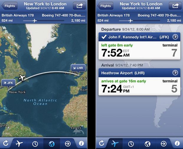 FlightTrack coloca as informações sobre voos do mundo em suas mãos (Foto: Divulgação)
