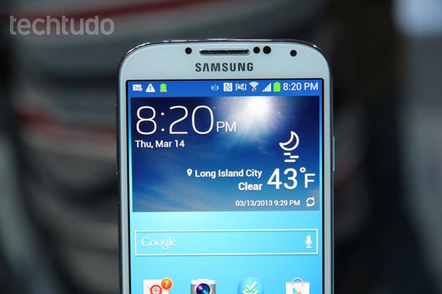 Galaxy S4 apresentou melhoras do que já era bom (Foto: Allan Melo/TechTudo)
