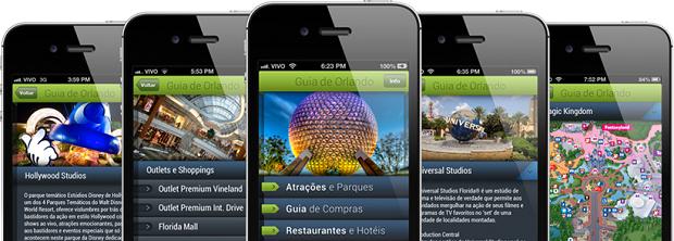 Encontre tudo que precisa em Orlando com a juda desse app (Foto: Divulgação)