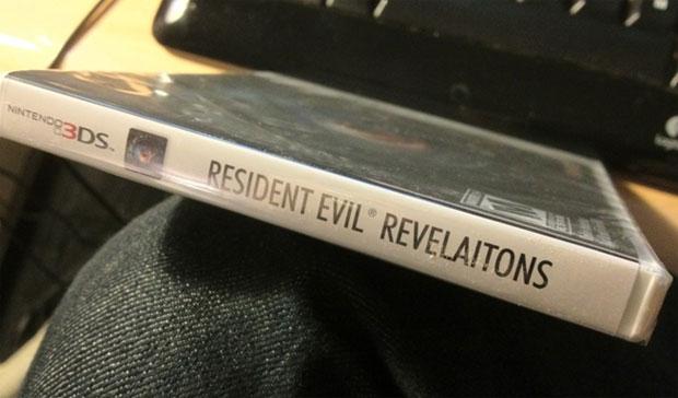 Gafe de digitação na capa de Resident Evil (Foto: Reprodução/GamingBolt)