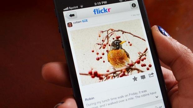 Flickr para iOS agora oferece hashtags (Foto: Reprodução/Mashable)
