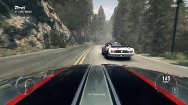 Controle dos carros mescla simulação e arcade (Imagem: Reprodução/TopGear)