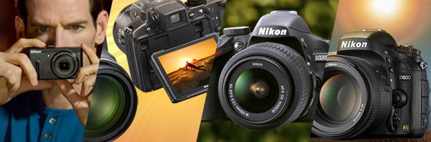Imagem de câmeras digitais Nikon (Foto: Reprodução)